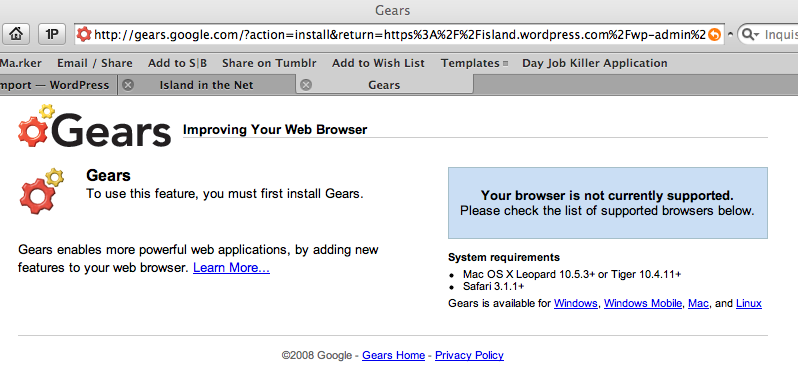 Did I miss a Safari for OS X update? %name