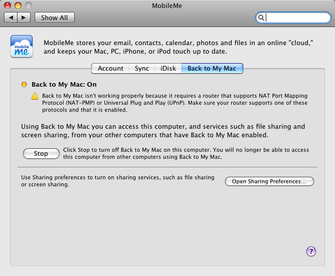 MobileMe and Time Capsule mobileme and time capsule