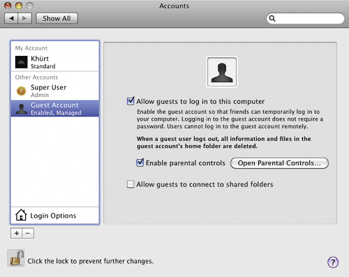how to delete guest user on mac