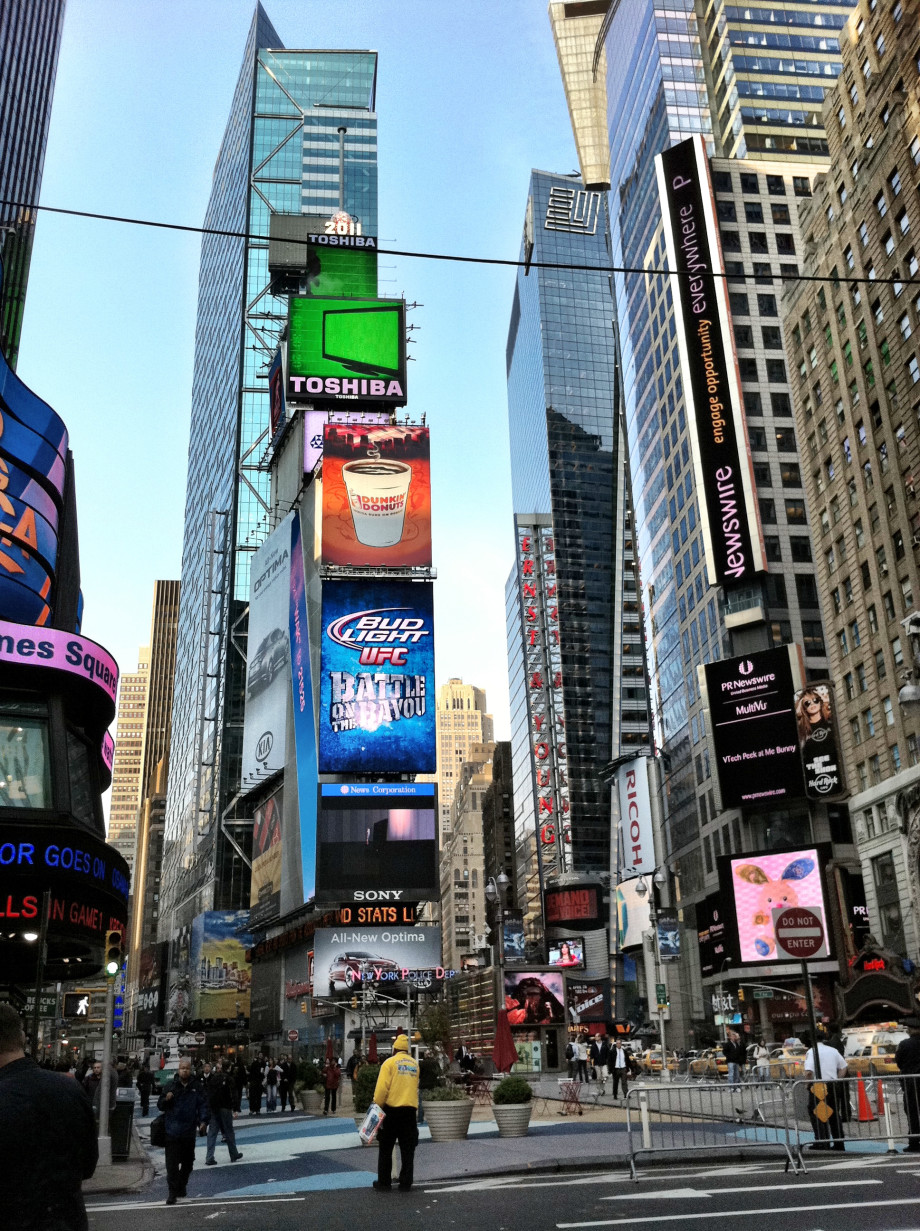 May 3, 2011 : Times Square 20110503 iPhone 4 2015 920x1231