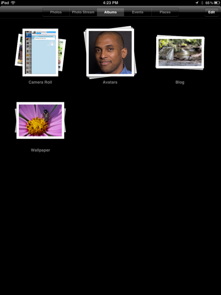 How to create photo albums on an iPad using iTunes, IMG 0041