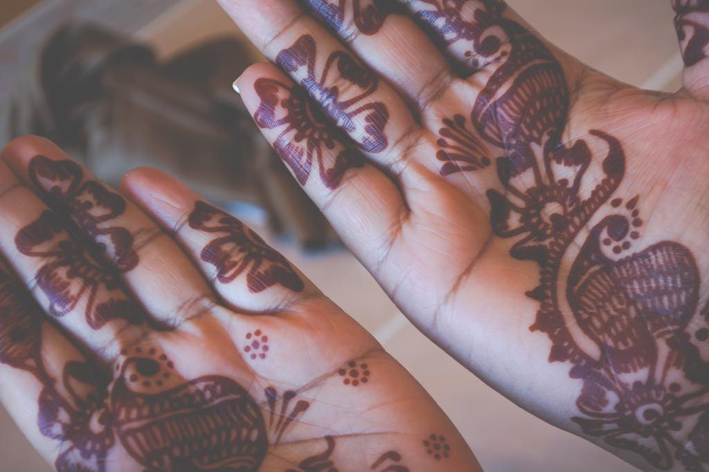 Hands, Henna, Kiran