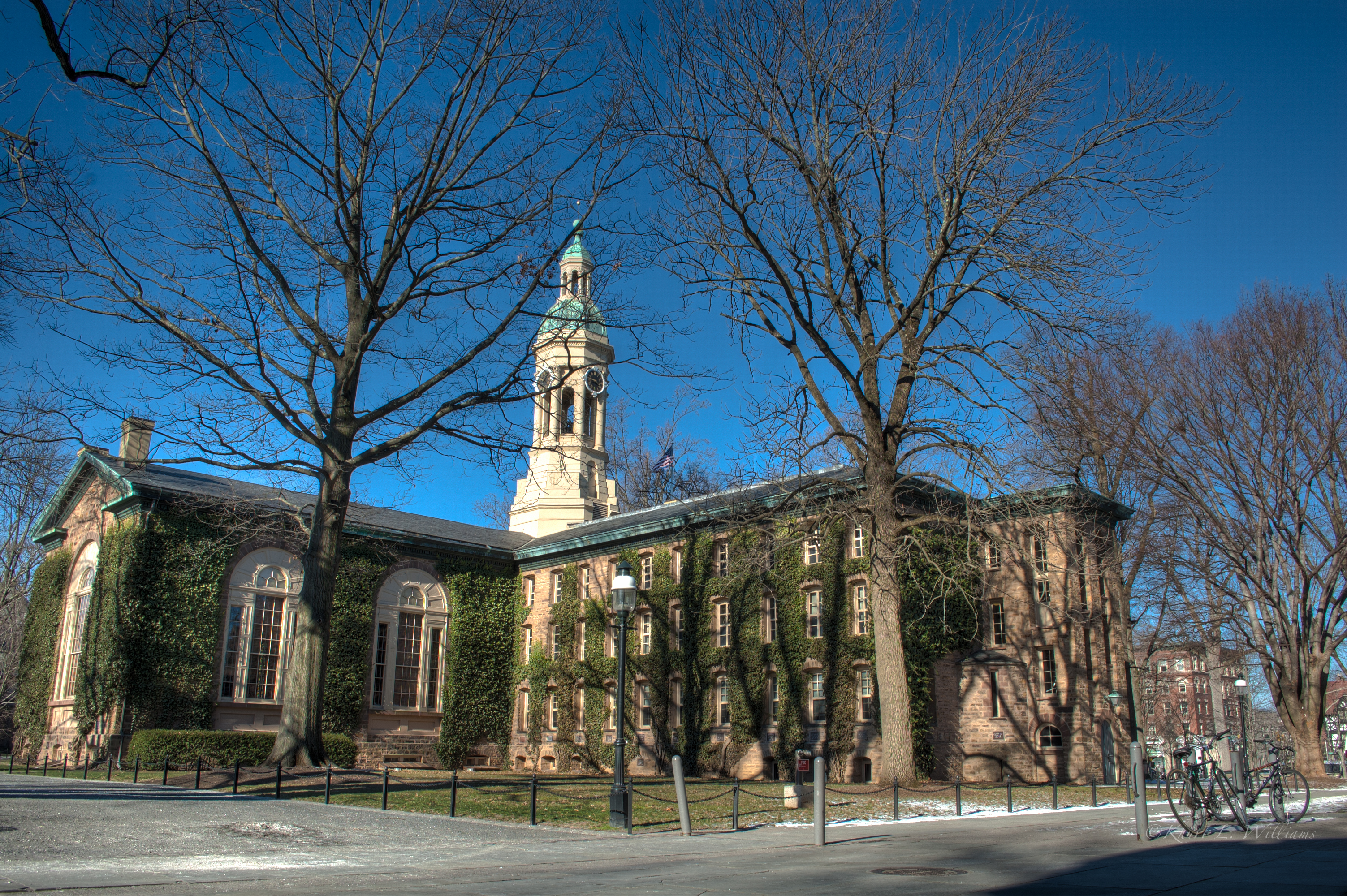 Nassau Hall, Princeton, Princeton University, History