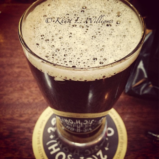 Instagram image for , Small World Coffee Cream Stout beer