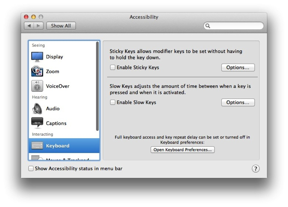 Enable Access for Assistive Devices in OS X Mavericks Screenshot 2014 01 10 20.23.50