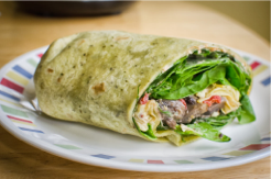 Vegan Spinach Mushroom Wrap, 1399050315 0