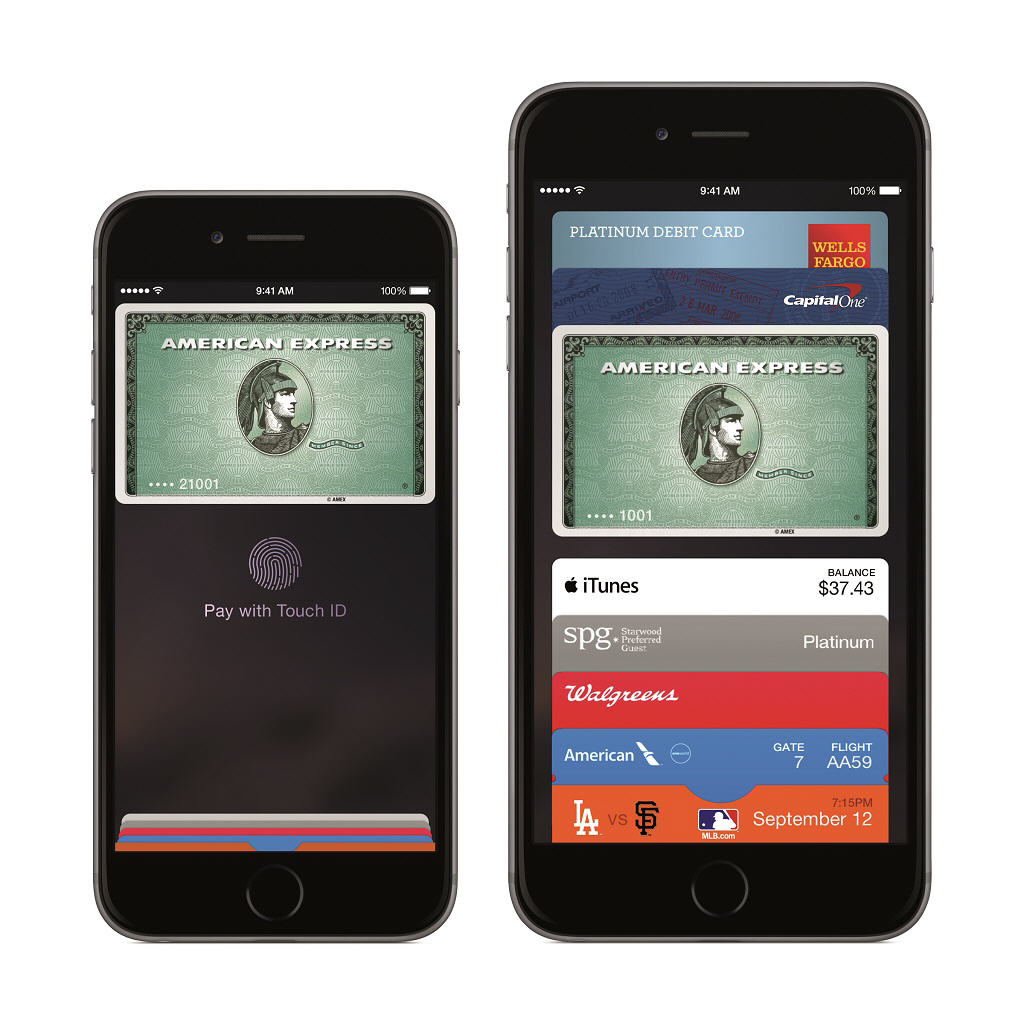 Could Apple Pay reduce credit card fraud? iPhone6 PF SpGry iPhone6plus PF SpGry Amex PRINT 1024 0001