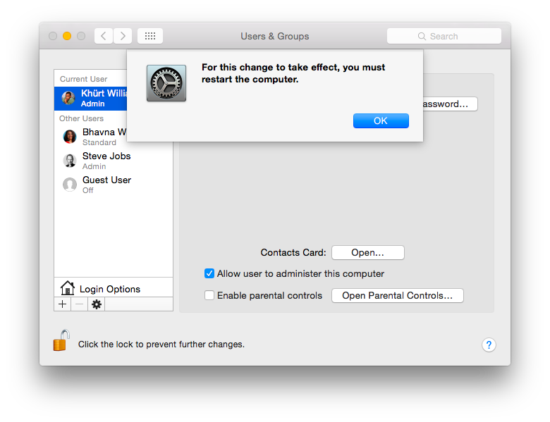How to setup an Administrator account in OS X screenshot 2014 12 30 11 05 09 png