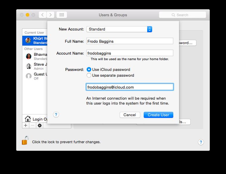 How To Setup A Standard Account In OS X screenshot 2014 12 30 13 35 21