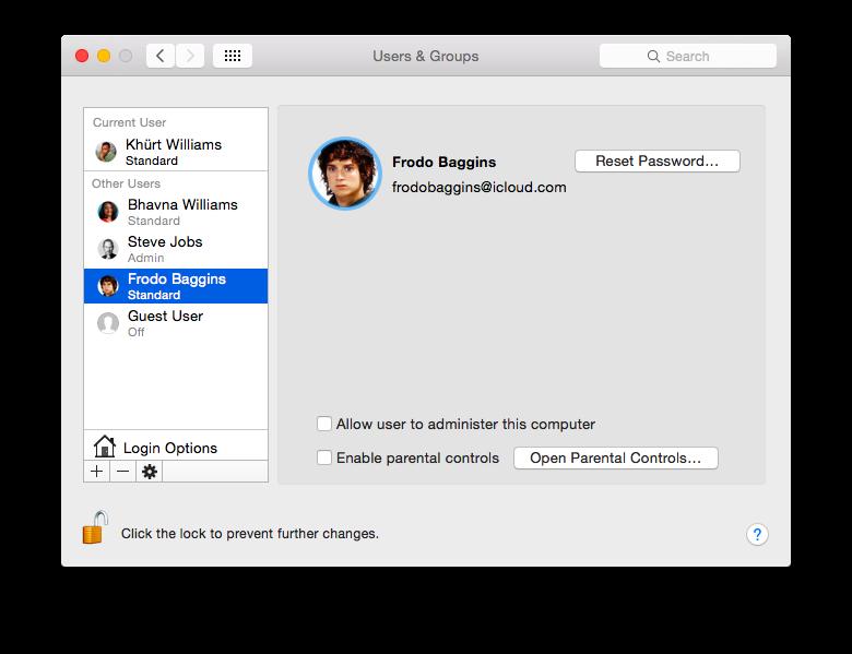 How To Setup A Standard Account In OS X screenshot 2014 12 30 13 36 40