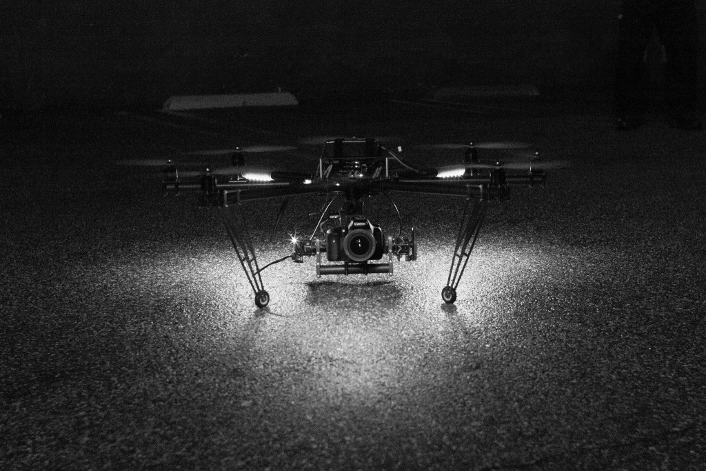 Its About the Intent mikey wally octocopter