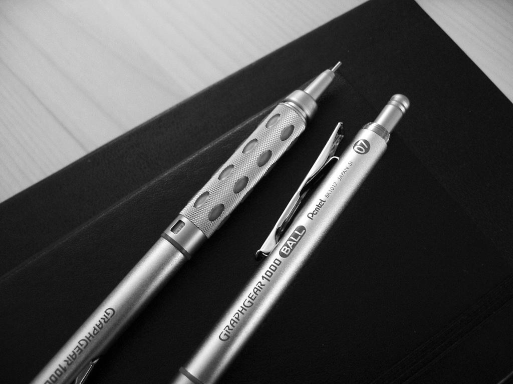 Pencils and Moleskines 08 by Paul Worthington