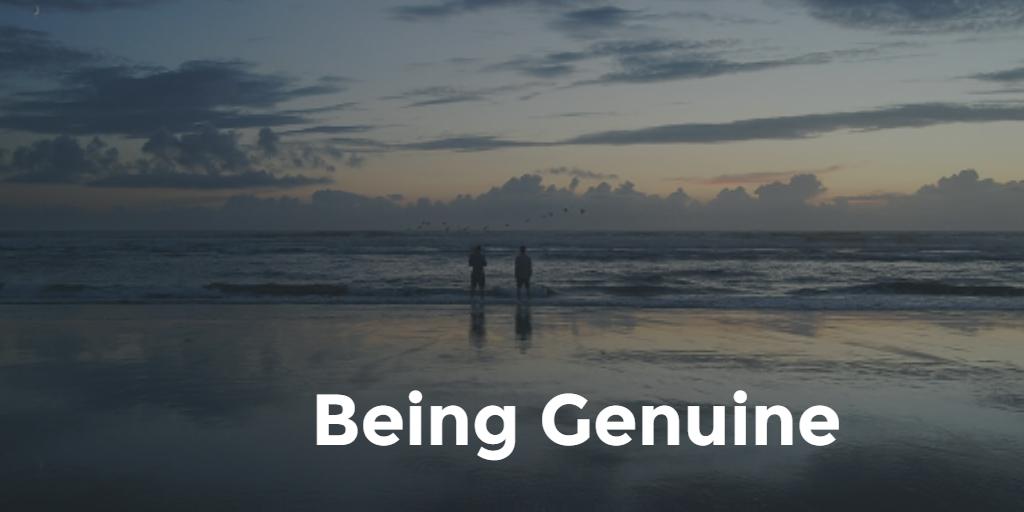 Being Genuine pablo 1