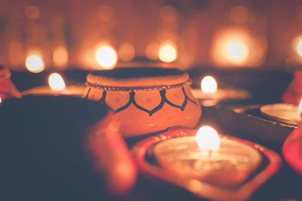 Diya, Diwali