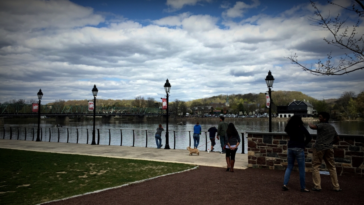 New Hope, Pennsylvania, Waterfront, Delaware
