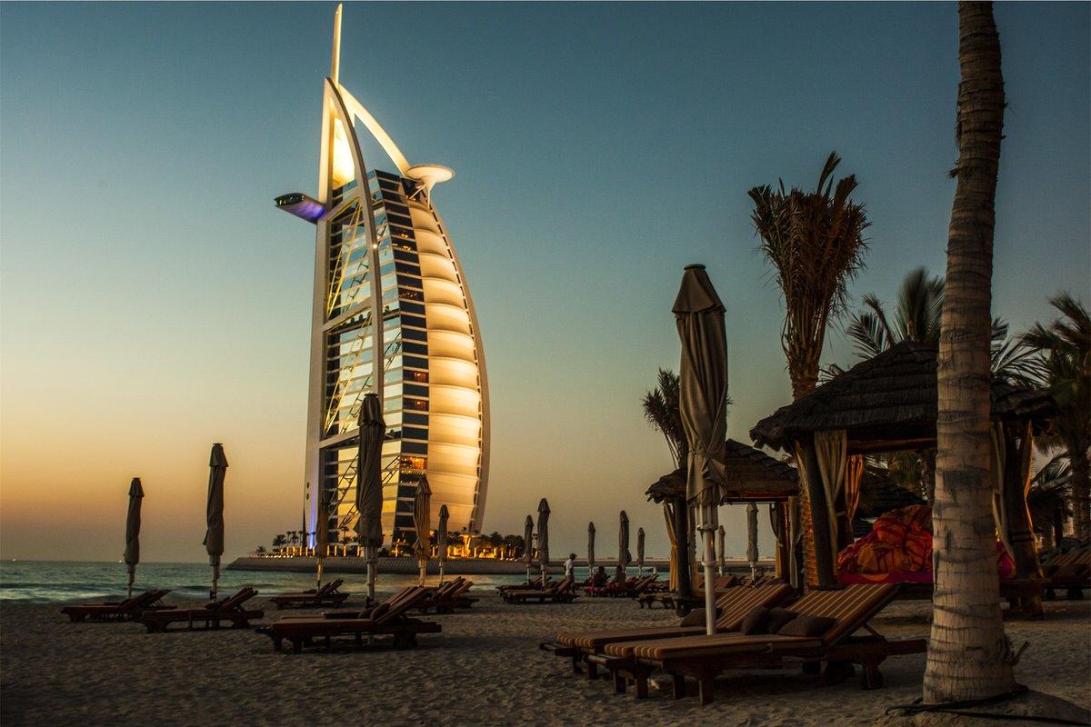 Beach, Burj Al Arab