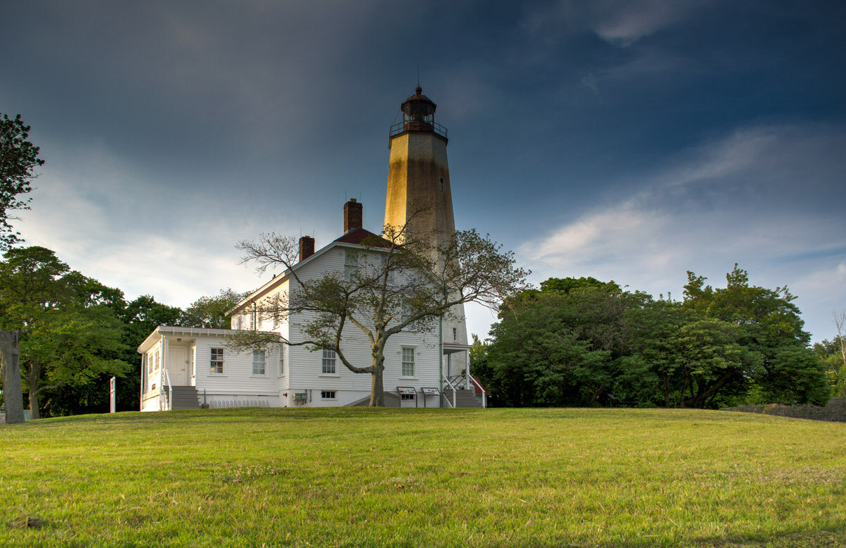 Sandy Hook, Lighthouse, Summer, Beach, New Jersey, HDR