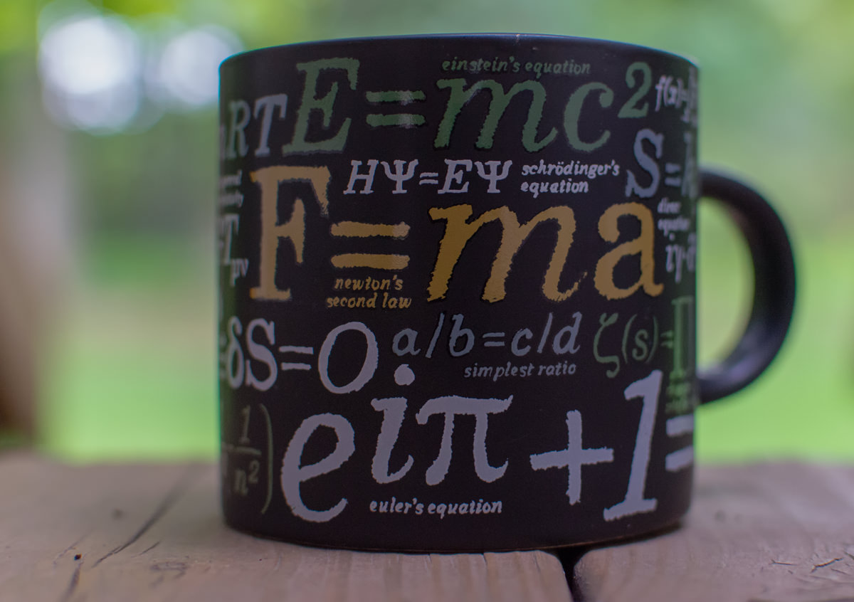 Coffee Cup, Physics
