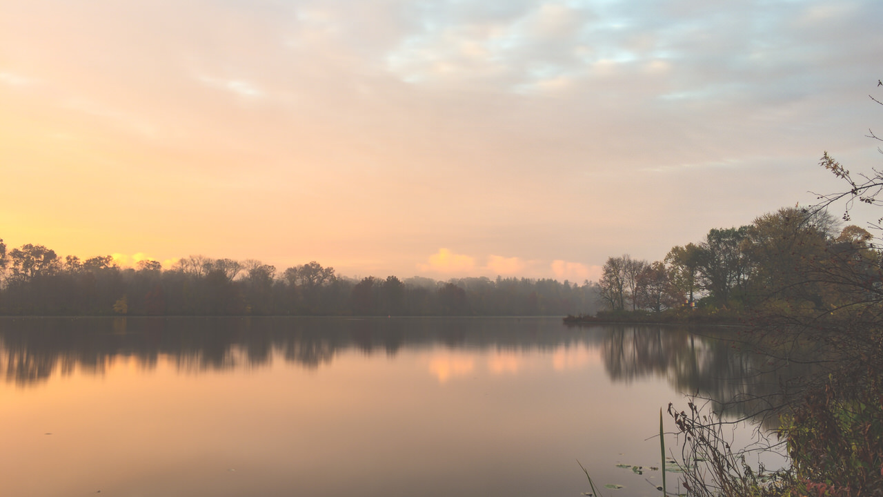 Sunrise at Carnegie Lake iPhone 20151105 iPhone 20151105 1703 blog
