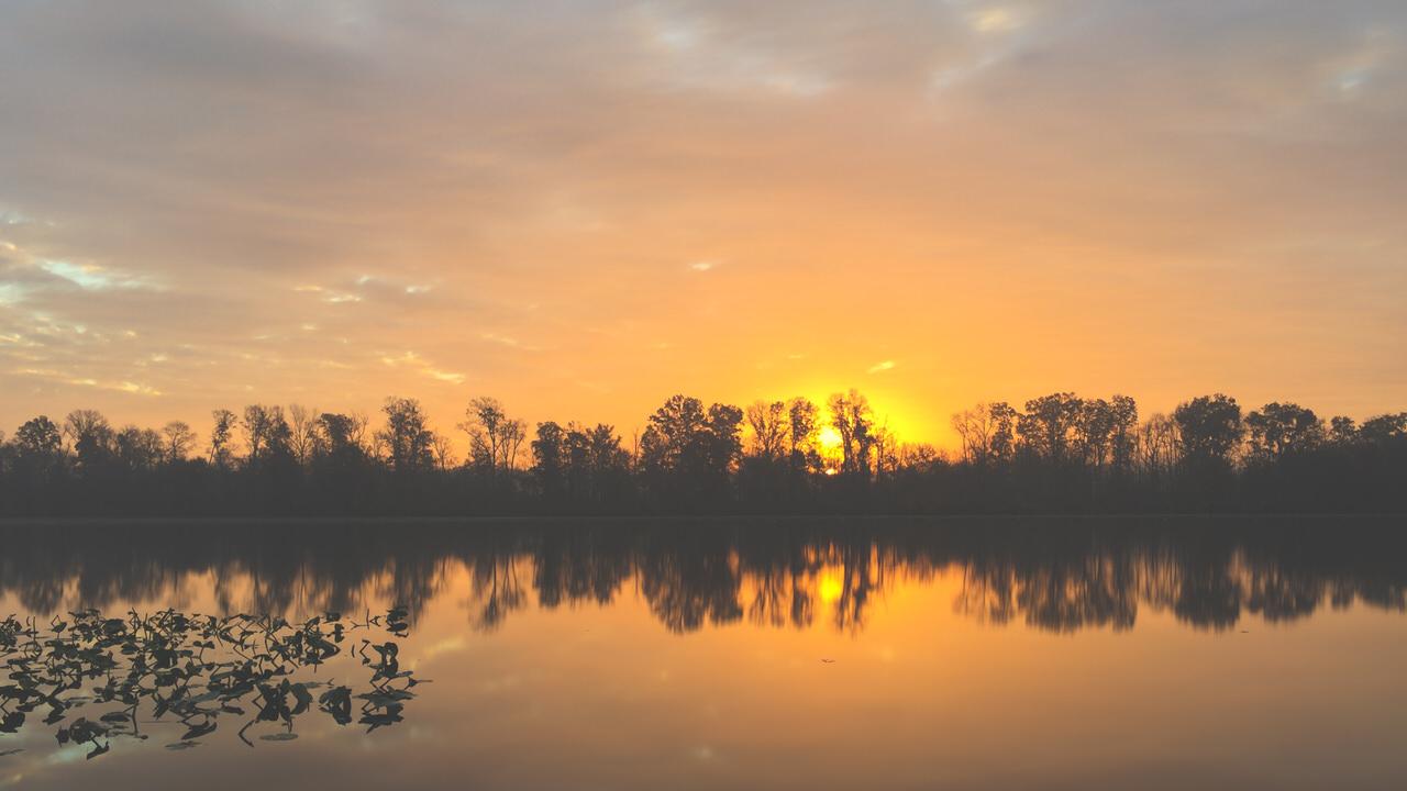 Sunrise at Carnegie Lake iPhone 20151105 iPhone 20151105 1707 blog