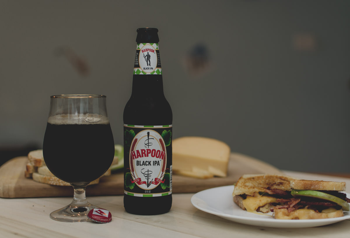 Not Your Basic Grilled Cheese, Harpoon Black IPA NIKON D5100 20151212 NIKON D5100 20151212 9660 Edit blog