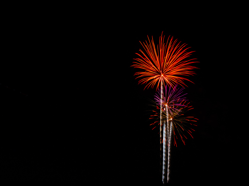 Independence Day Fireworks, Skillman, New Jersey, NIKON D5100 20160630 2244