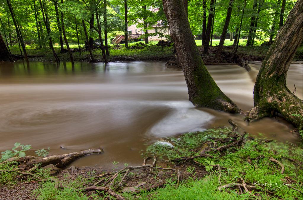 The Rock Brook at Camp Meeting During a Flash Flood NIKON D5100 20160731 2737 8 9 HDR