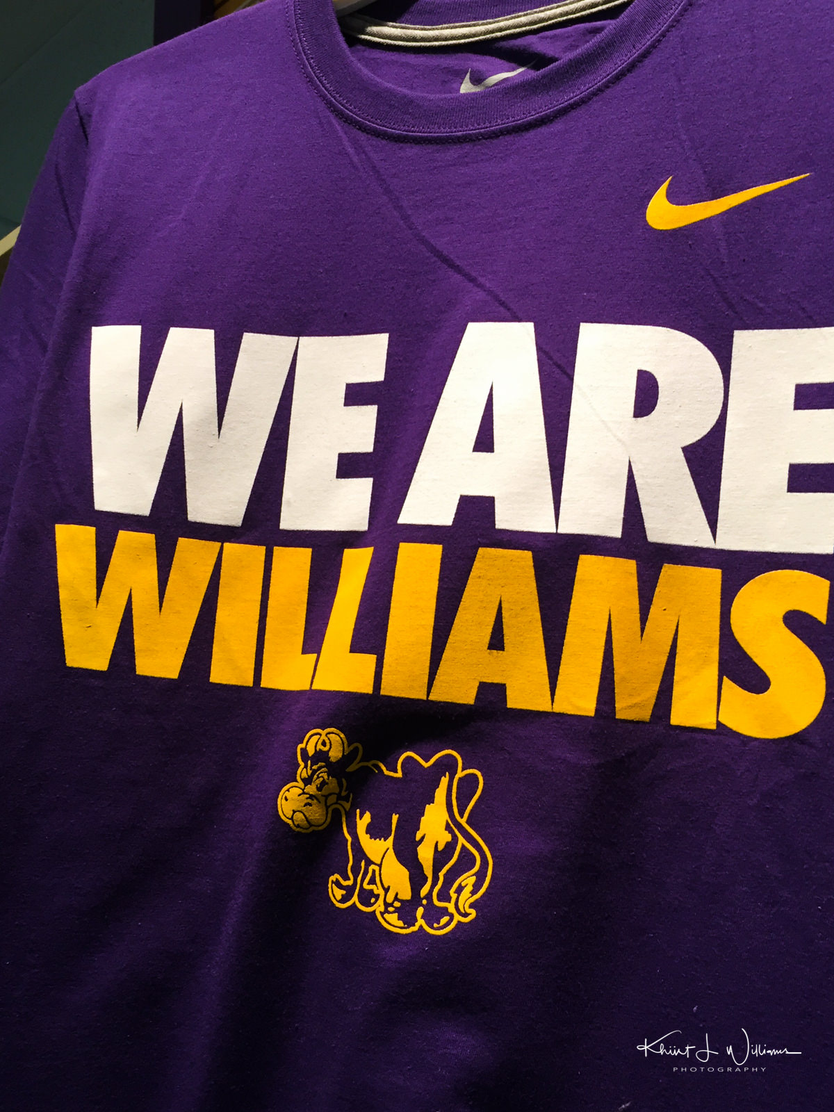 We Are Williams t shirt  20160729 2814 1