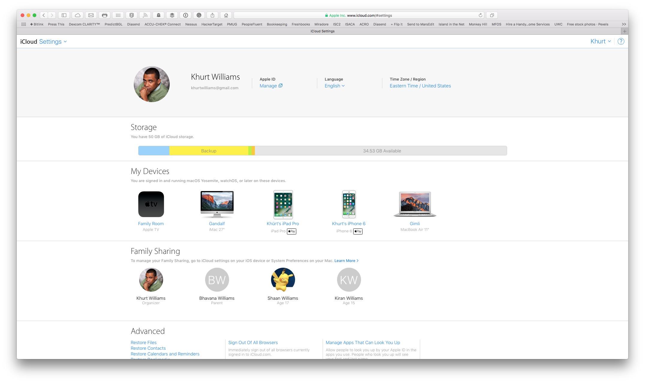 macOS Sierra Optimised Storage at 6.32.02 AM
