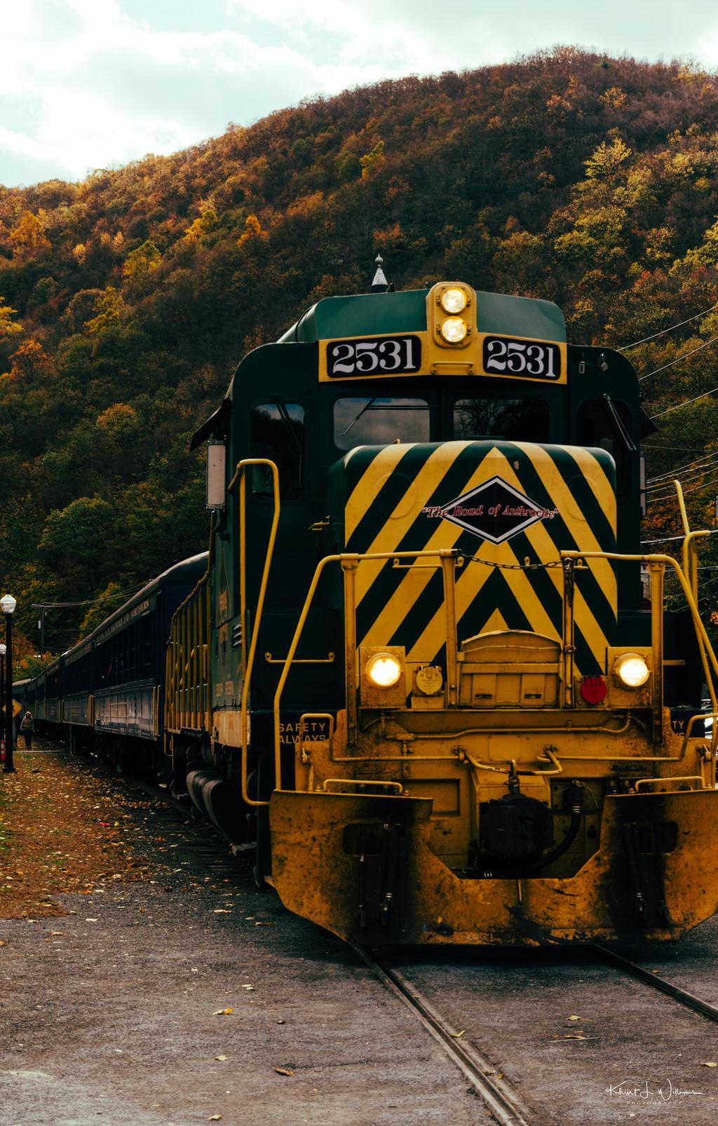 Lehigh Gorge Railway Jim Thorpe Autum Leaf Excursion NIKON D5100 20161023 5118 1