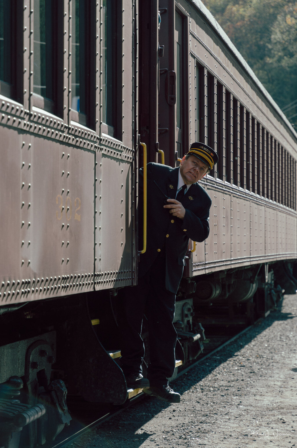 Autumn Leaf Excursion to Jim Thorpe on the Lehigh Gorge Scenic Railway Lehigh Gorge Railway Jim Thorpe Autum Leaf Excursion NIKON D5100 20161023 5160 1