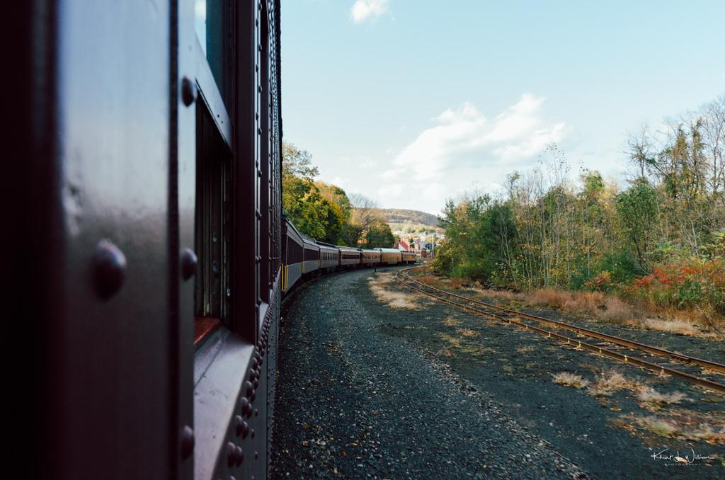 Autumn Leaf Excursion to Jim Thorpe on the Lehigh Gorge Scenic Railway Lehigh Gorge Railway Jim Thorpe Autum Leaf Excursion NIKON D5100 20161023 5240 1