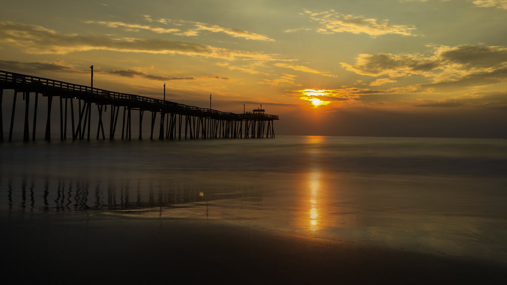 Sunrise at Rodanthe Pier, Outer Banks