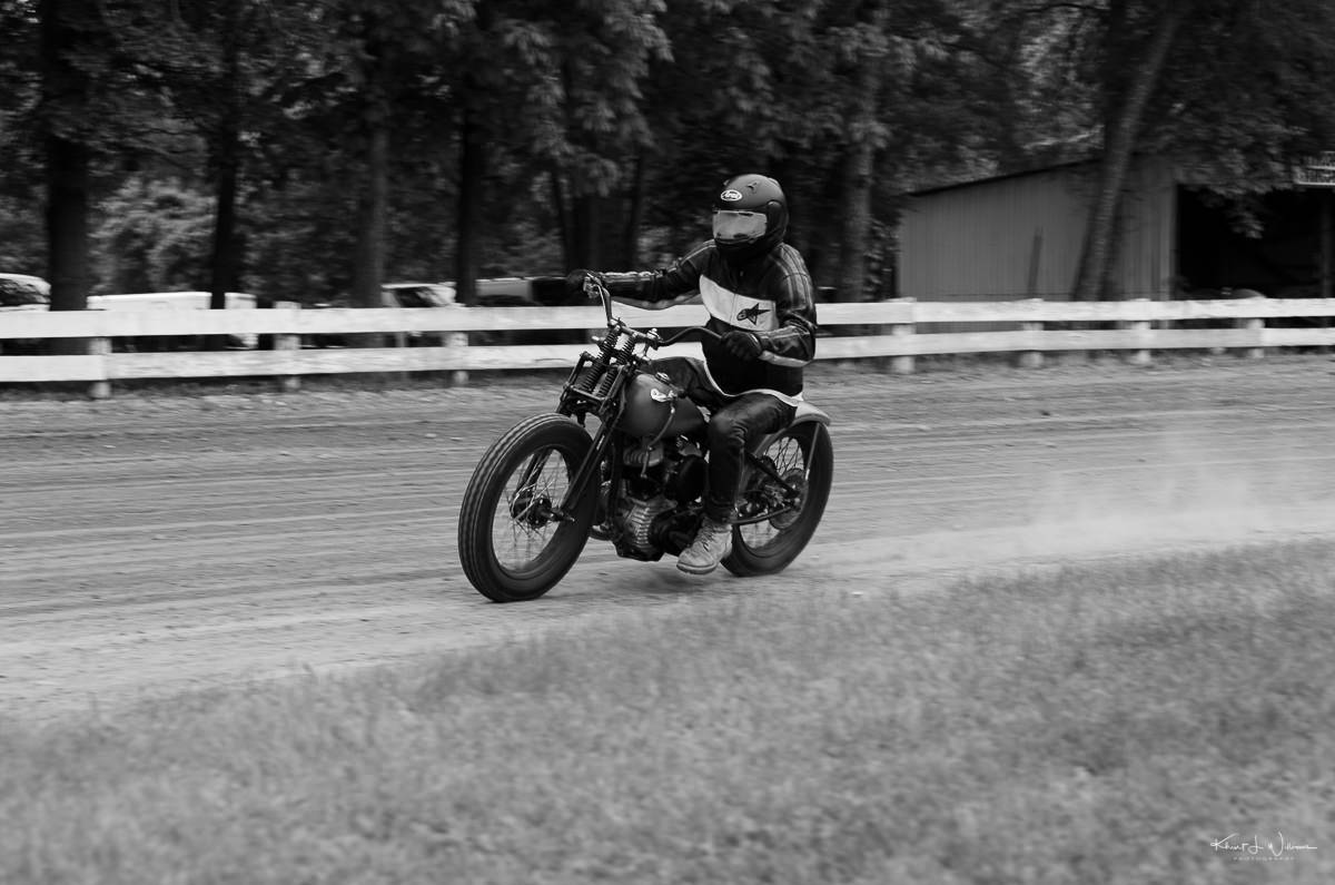 cars and motorbikes in black and white Jalopy NIKON D5100 20170520 2246