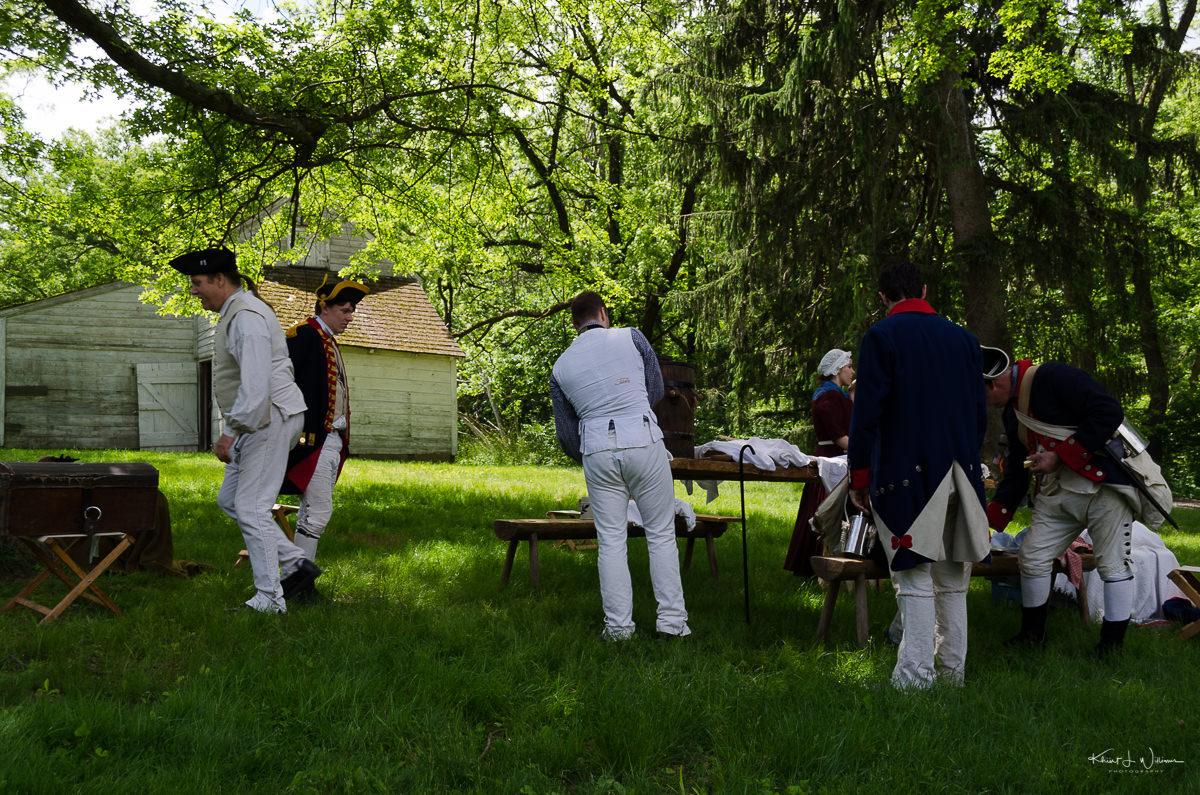 Princeton, Battlefield Park, Local Gathering, Spirit of Princeton, Colonial Soldier, Memorial Day,