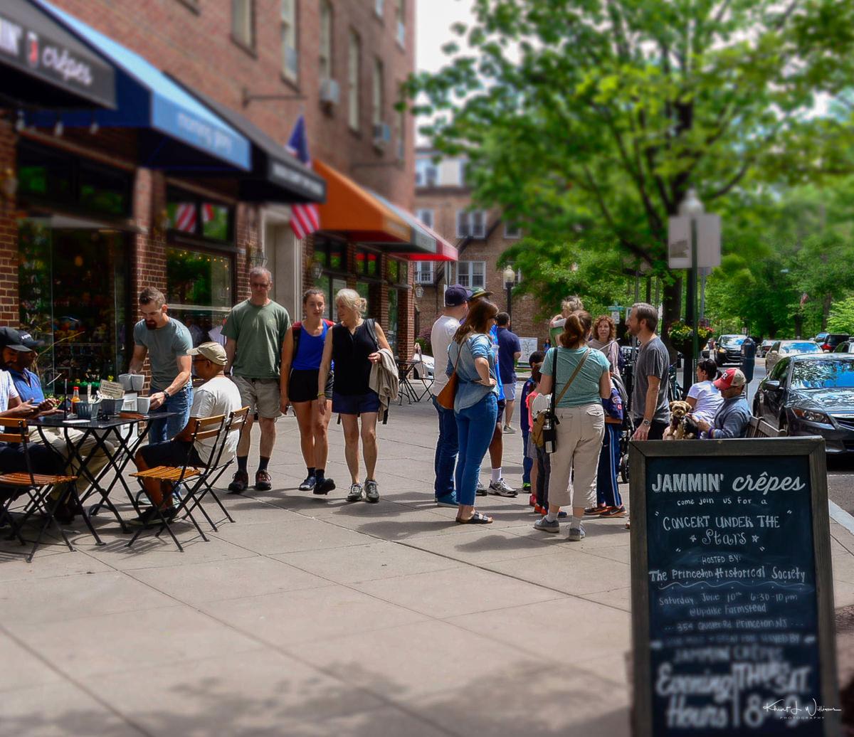 Nassau Street, Princeton, Street, People