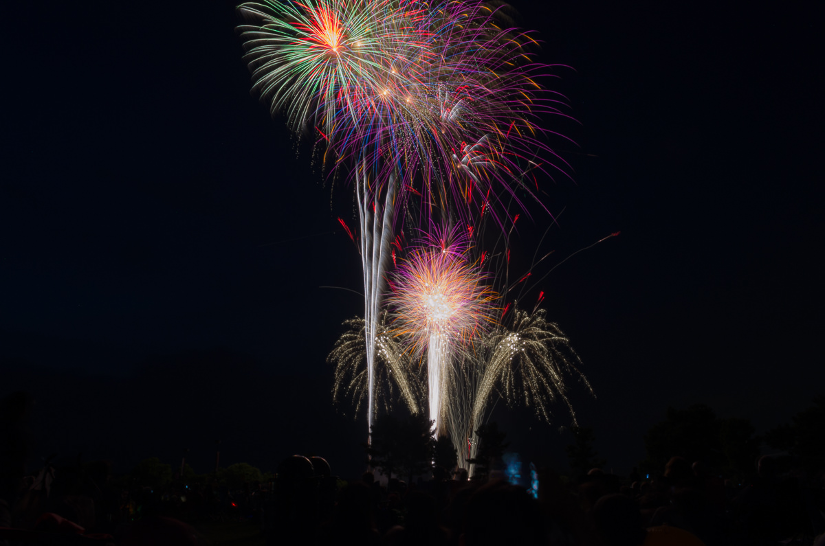2017 Montgomery Township United States Independence Day Fireworks at the Montgomery High School Montgomery Township July 4 Fireworks at the Montgomery High School NIKON D5100 20170629 3319