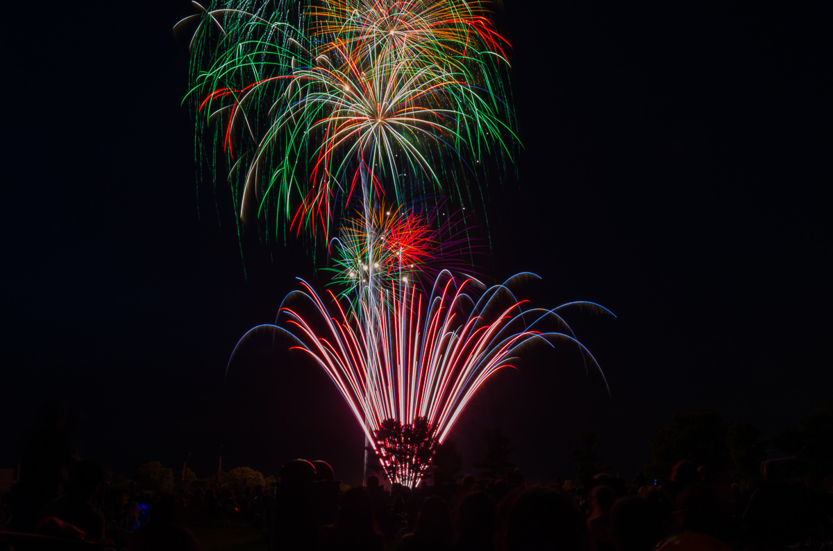 2017 Montgomery Township United States Independence Day Fireworks at the Montgomery High School Montgomery Township July 4 Fireworks at the Montgomery High School NIKON D5100 20170629 3324