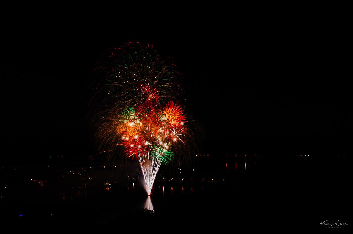 fireworks, new hope, Pennsylvania , lambertville, goat hill, overlook