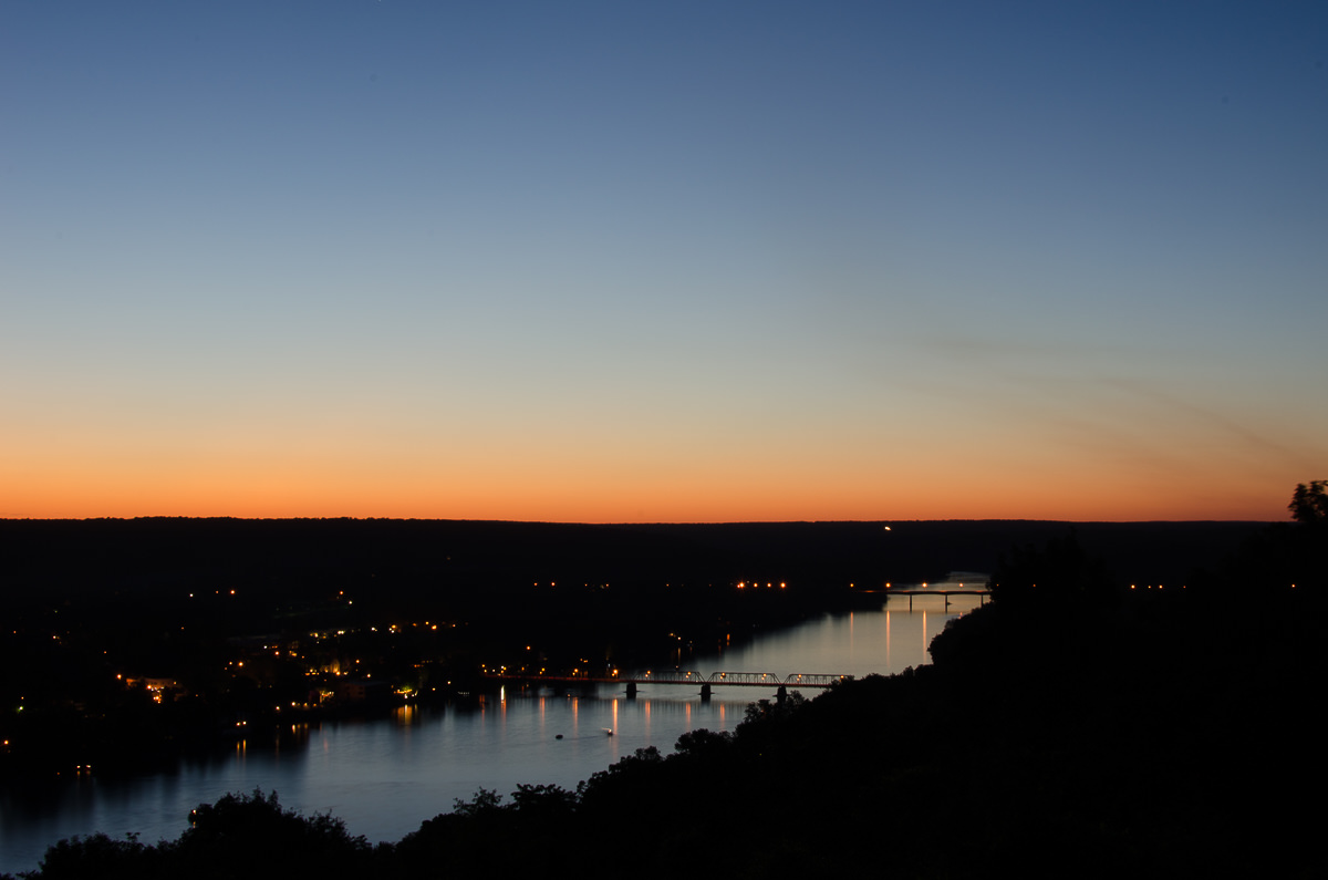Sunset, Lambertville,