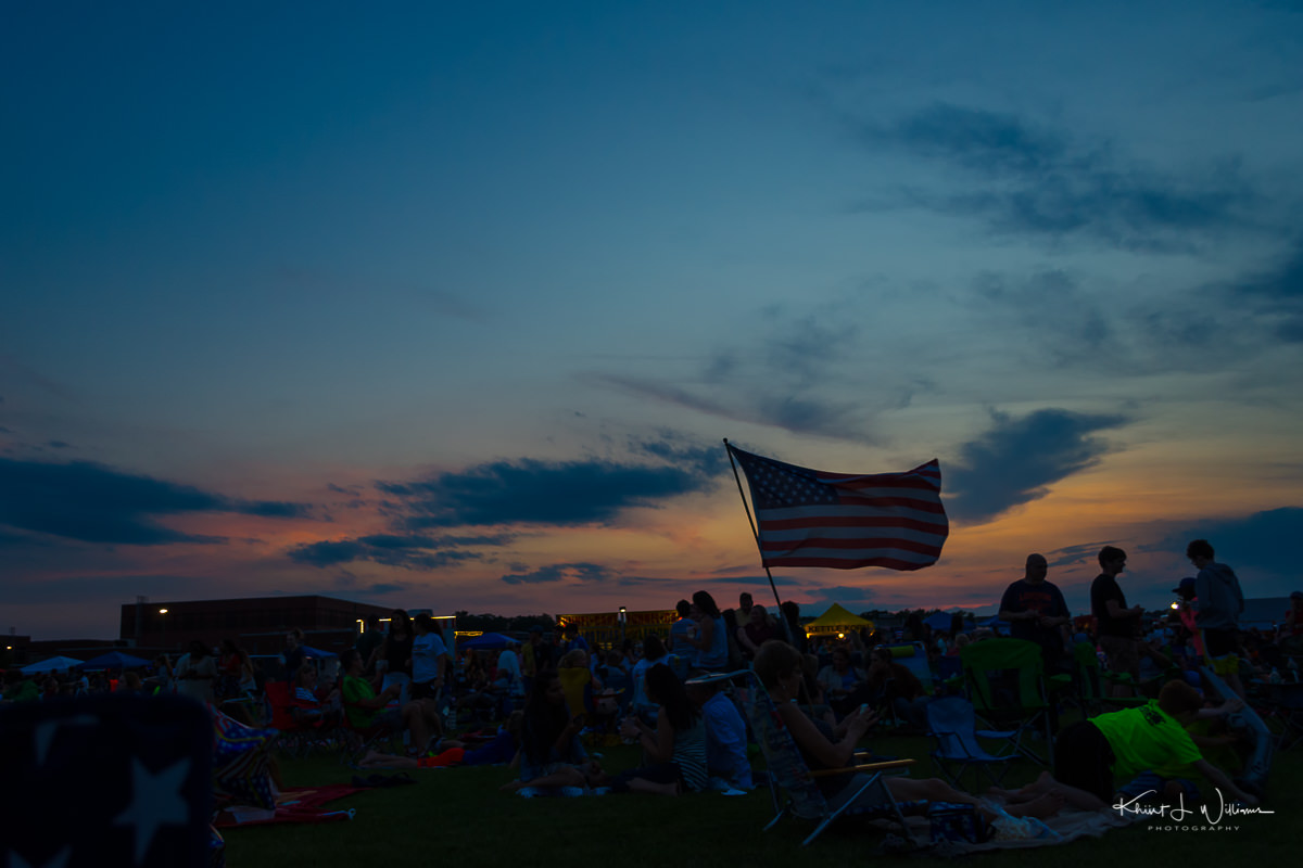 The Changing Seasons   June Last night before the Montgomery Township Independence Day Fireworks at the Montgomery High School NIKON D5100 20170629 3287 Edit 1