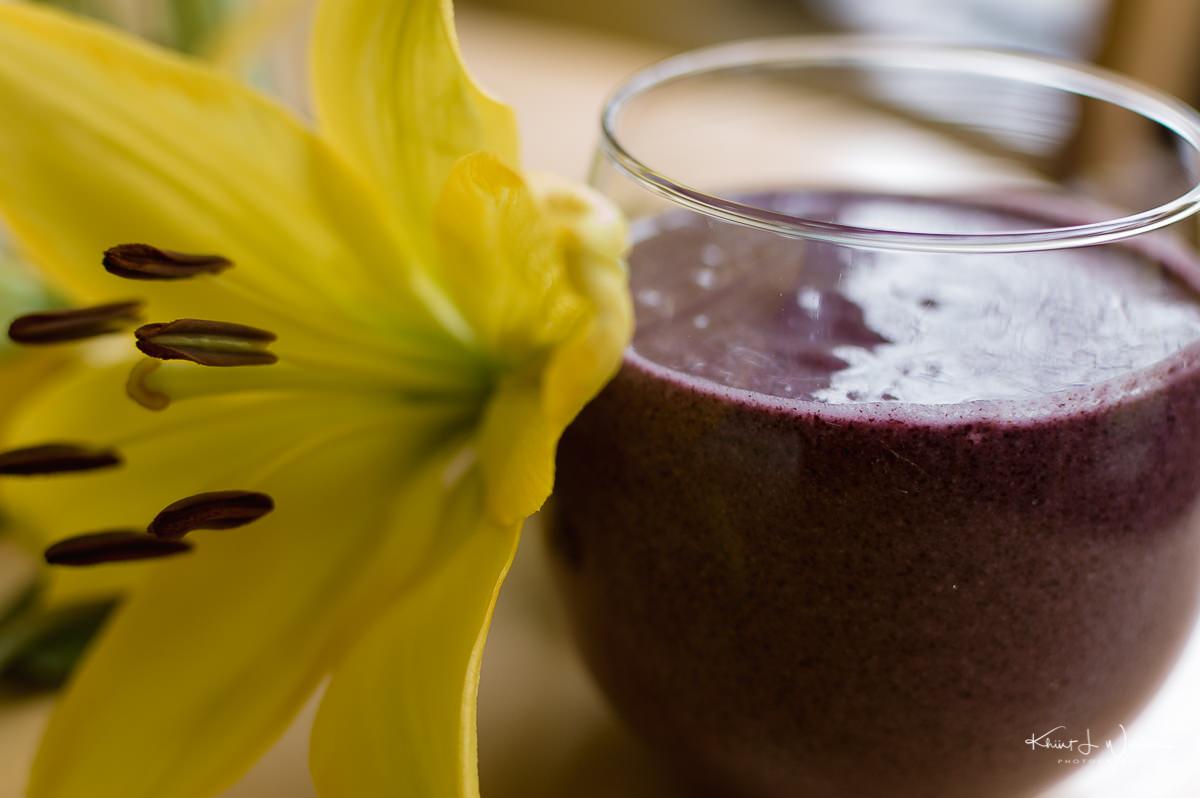Blue Breakfast Smoothie Recipe NIKON D40 20110423 7176