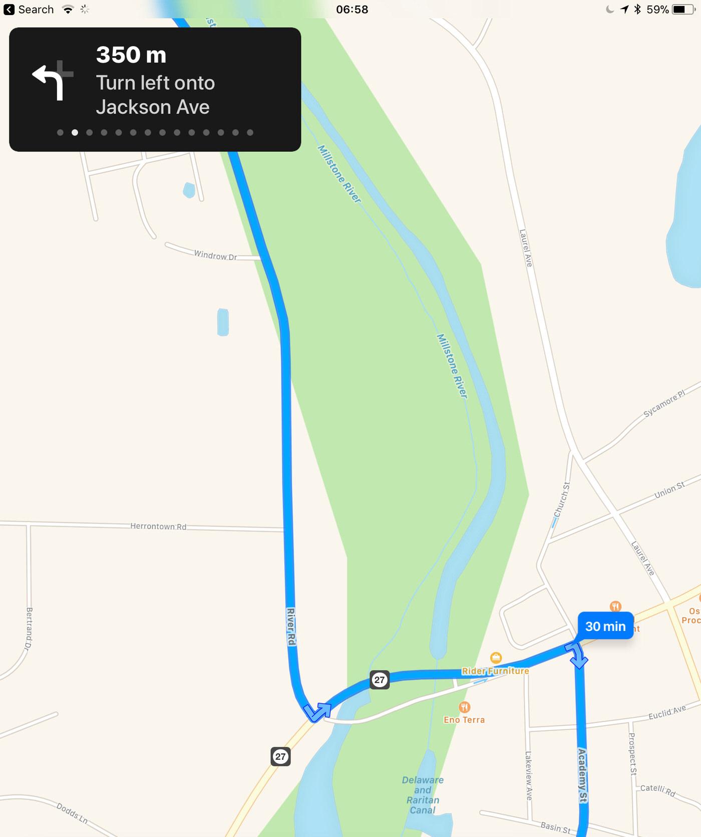 iOS, Maps