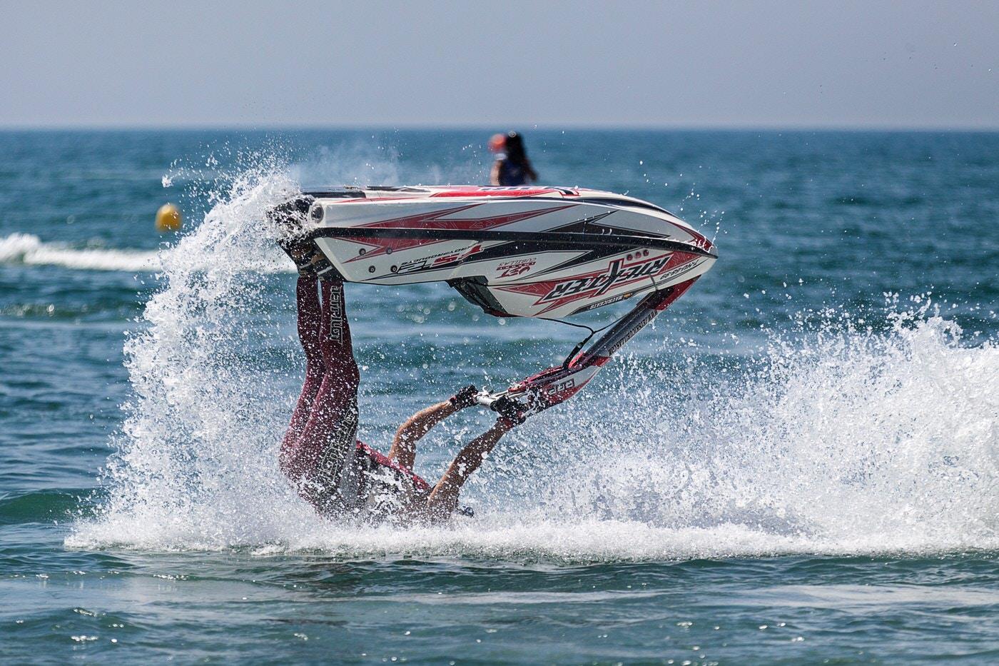 man, water, jet-ski, fail