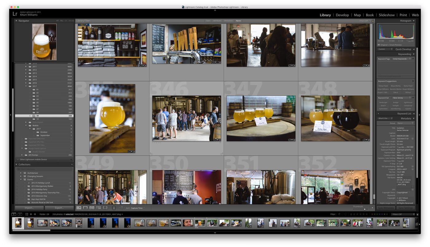 Adobe, Lightroom, CC, Classic, Screenshot