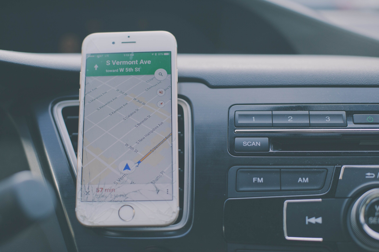 iPhone, Car, Maps