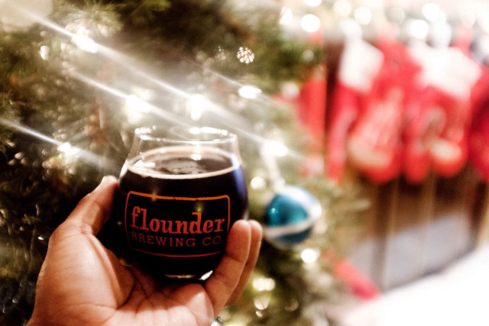 Flounder Brewing Co's St. Nick Christmas Ale