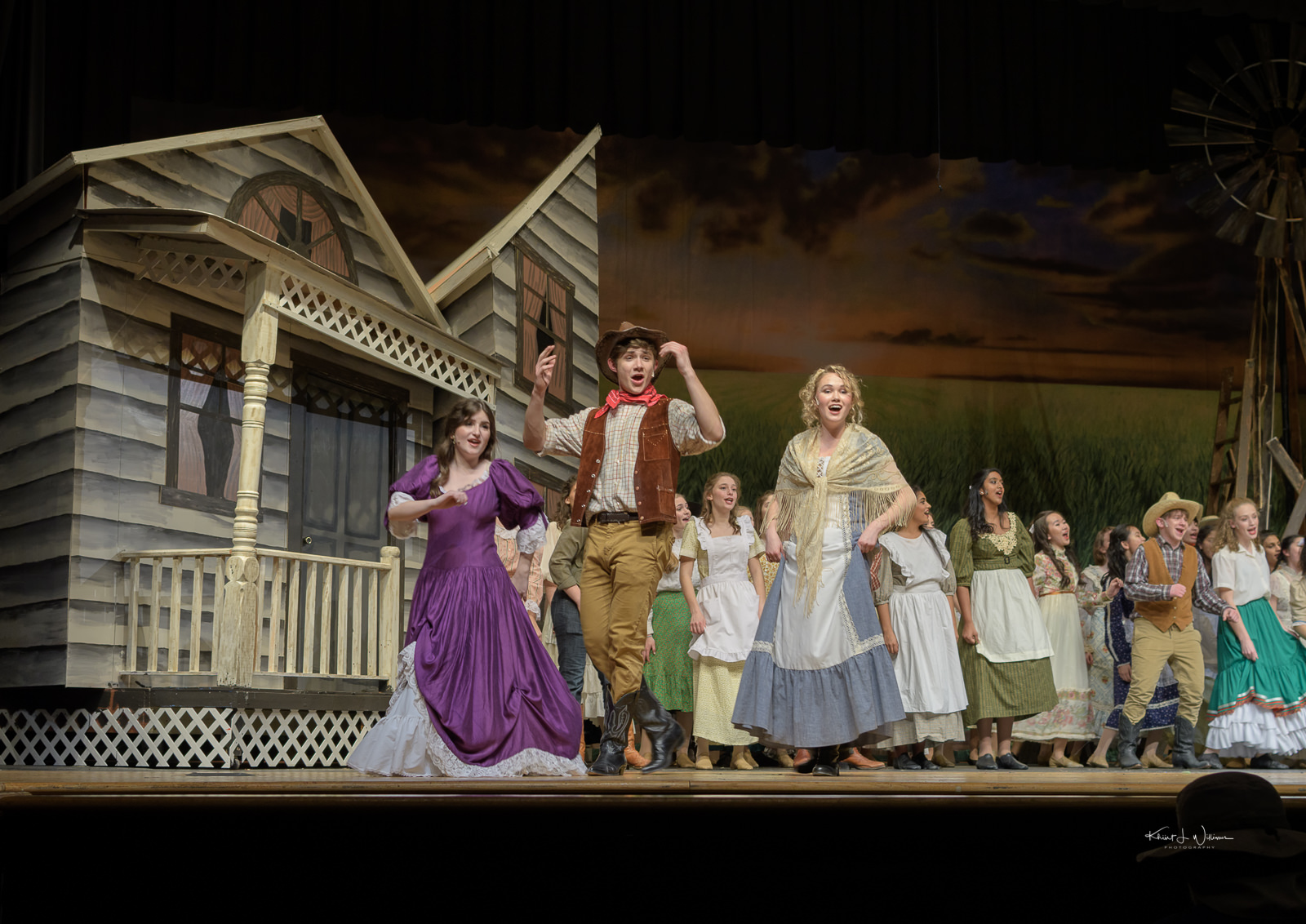 Oklahoma, Musical, Montgomery Township, High School