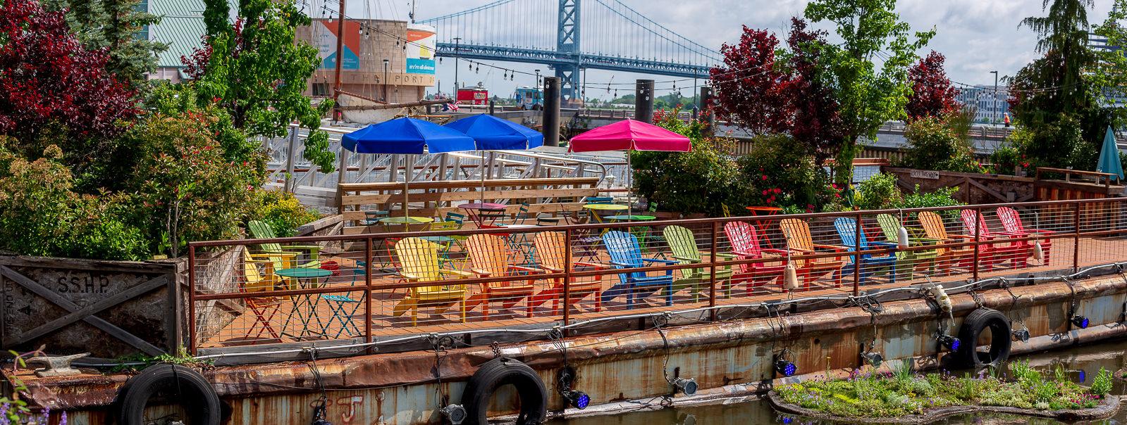 Oasis, Spruce Street Harbor Park, Penn's Landing, Philadelphia