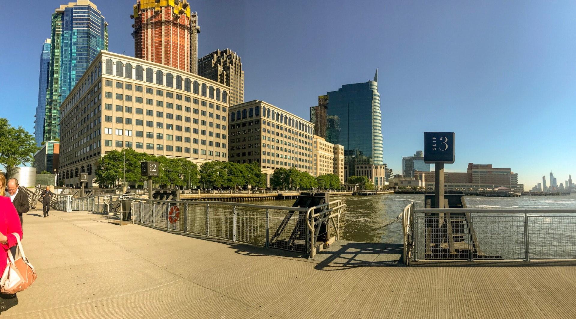 NY Waterway, Ferry , Terminal , Paulus Hook